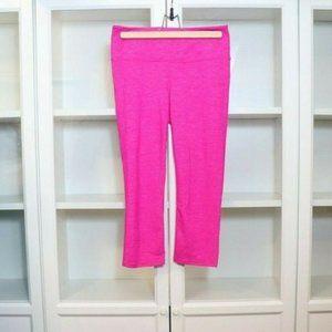 Athleta Chaturanga Capri Pants in Hot Pink Size S